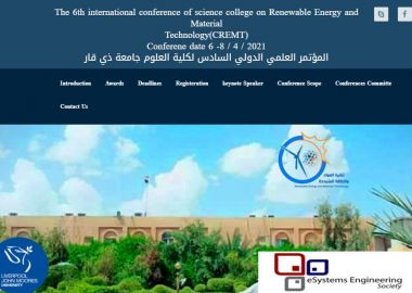 The 6th international conference of science college on Renewable Energy and Material Technology(CREMT)