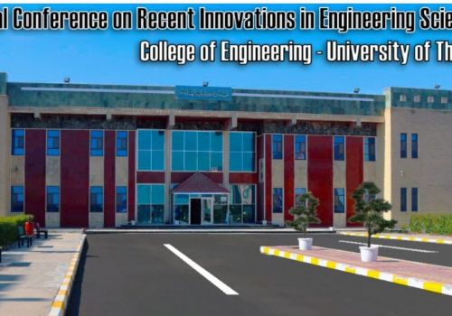 The 2nd International Conference on Recent Innovation In Engineering Sciences