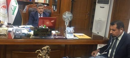 The Head of Thi-qar University and His Scientific and
