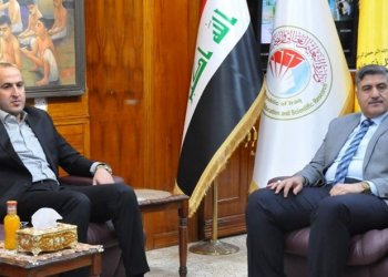 The president of Thi Qar University meets the governor