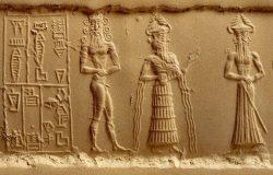 clay-impression-of-a-cylinder-seal-depicting-adoration-scene-from-nippur-iraq-detail-akkadian-civilization-2330-2150-b-c-102520124-58988e835f9b5874ee8c3e31