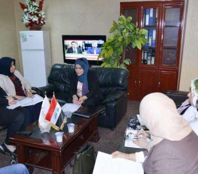 لجنة النوع الاجتماعي في وزارة التعليم العالي والبحث العلمي تعقد