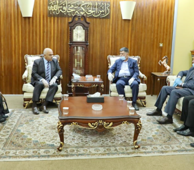 وزير التعليم يستقبل وفدا من العتبتين الحسينية والعباسية