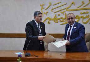 جامعة ذي قار تعقد اتفاقية تعاون علمي مع جامعة العين