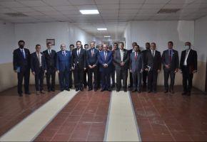 رؤساء الجامعات في محافظة ذي قار يستقبلون معالي وزير التعليم العالي والبحث العلمي