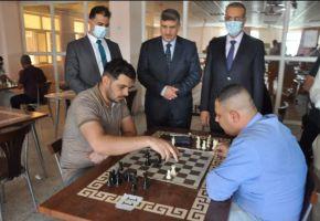 أنطلاق بطولة جامعة ذي قار الدولية للشطرنج الخاطف لعام ٢٠٢١