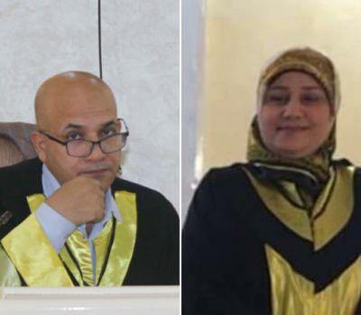 تدريسيان من كلية القانون بجامعة ذي قار يحصلان على كتاب شكر وتقدير من مجلس النواب العراقي
