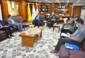 لجنة إستحداث جامعة الشطرة تعقد إجتماعها الأول